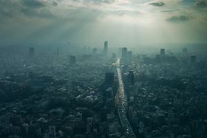 cityscape+fog