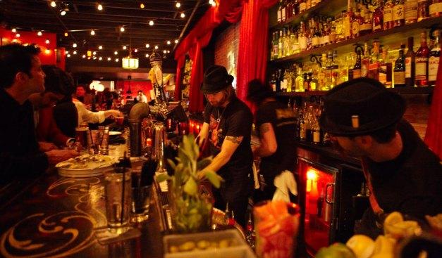 Upbeat bar