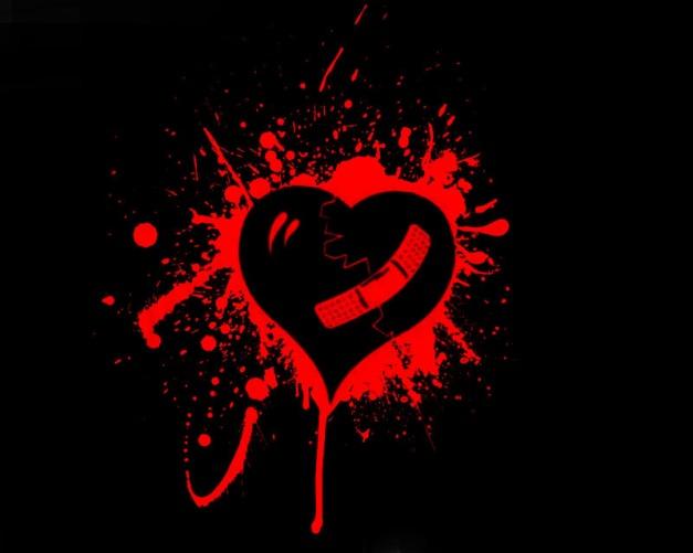 brokenheartwbandaid