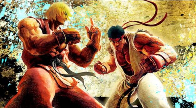 Ken and Ryu 2