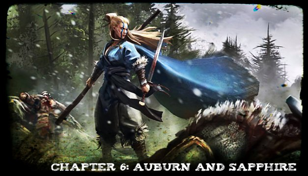 Chapter 6 - Auburn and Sapphire - Artwork by Conor Burke