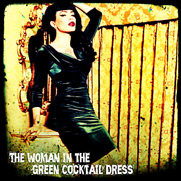 Green Cocktail Dress 6