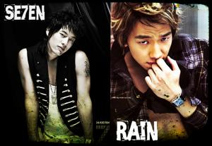 Seven vs Rain